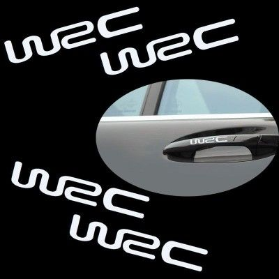 Sticker manere usa - WRC (set 4 buc.)