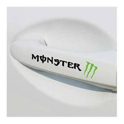 Sticker manere usa - Monster (set 4 buc.)