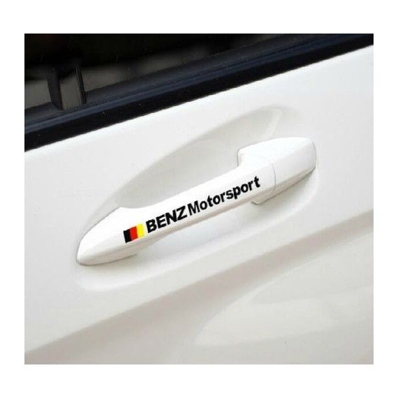 Sticker manere usa - Mercedes (set 4 buc.)