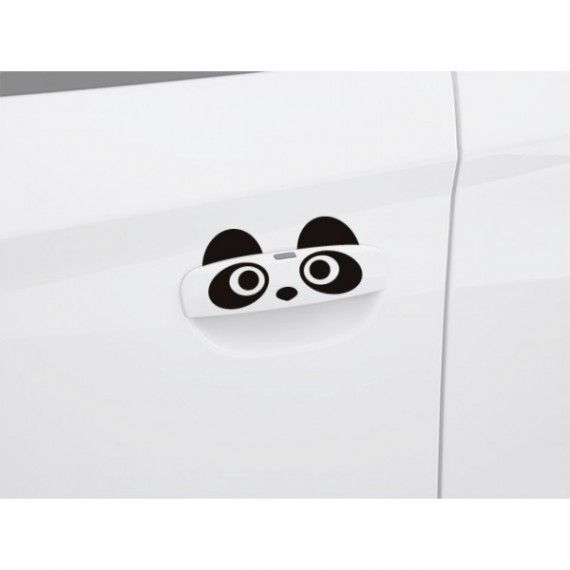 Sticker manere usa - Panda (set 4 buc.)