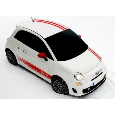 Ornament autocolant Abarth (set 10 buc)