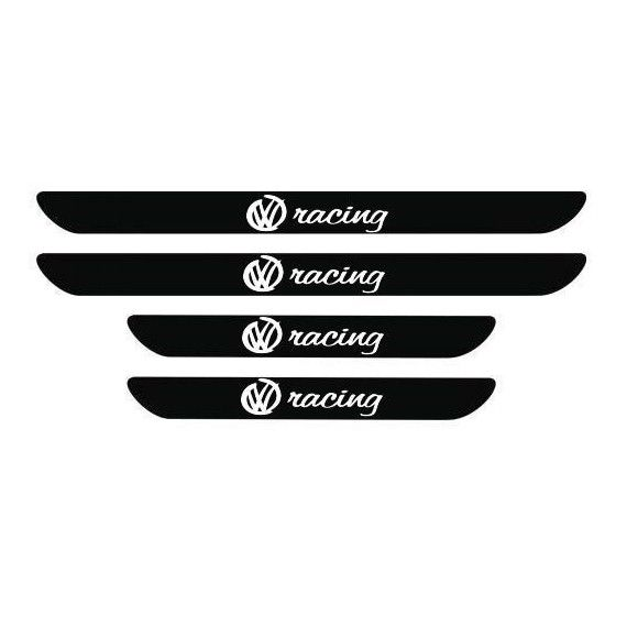 Set protectie praguri VW Racing