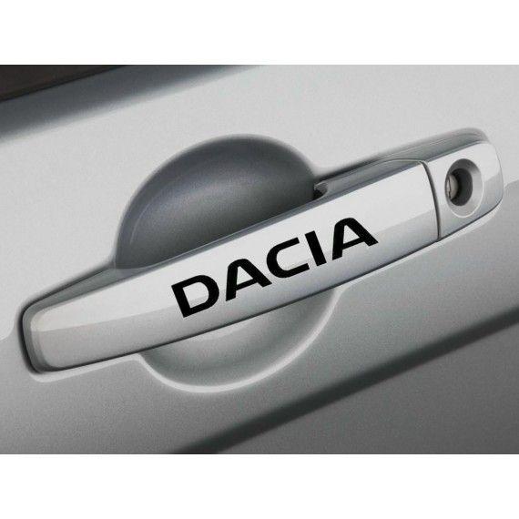 Sticker manere usa - Dacia (set 4 buc.)