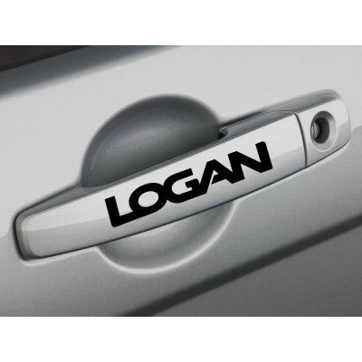 Sticker manere usa - Logan (set 4 buc.)