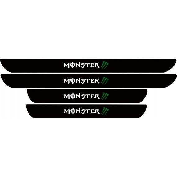 Set protectie praguri Monster