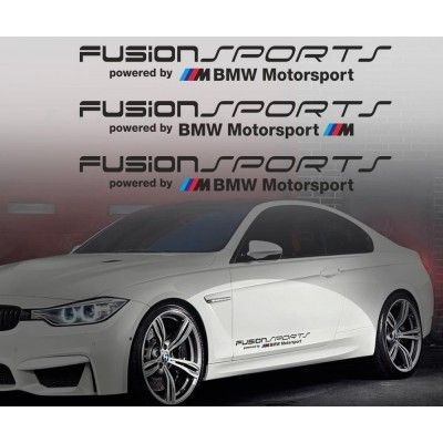 Sticker auto model BMW Fusion