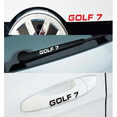 Sticker manere usa - Golf 7 (set 4 buc.)