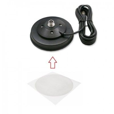 Pad autocolant anti zgarieturi, pentru Antena Statie auto (statie CB)