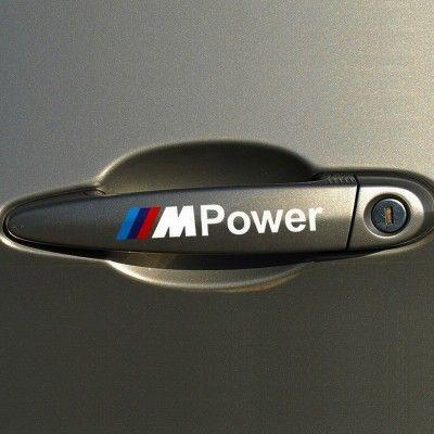 Sticker manere usa - M Power (set 4 buc.)