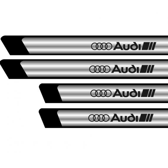 Set protectii praguri CROM - Audi