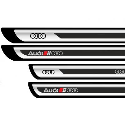 Set protectii praguri CROM - Audi (V2)