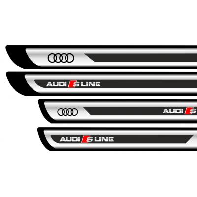 Set protectii praguri CROM - Audi S-Line