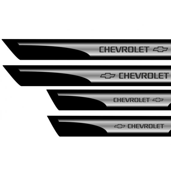 Set protectii praguri CROM - Chevrolet