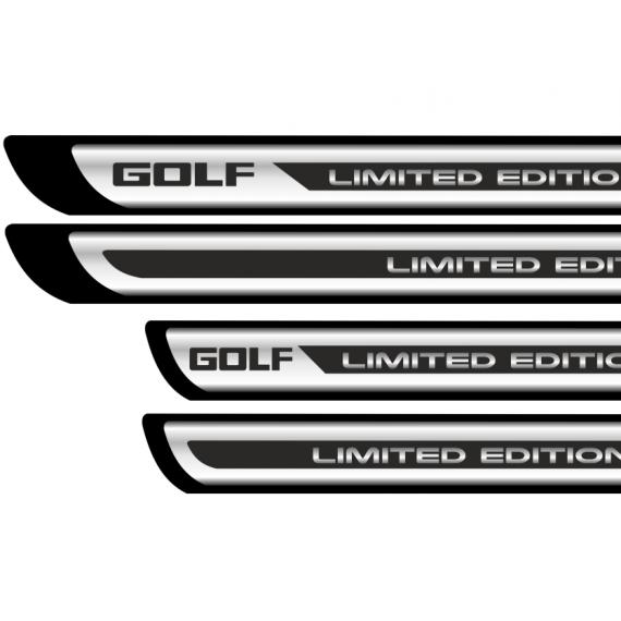 Set protectii praguri CROM - Golf