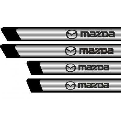 Set protectii praguri CROM - Mazda