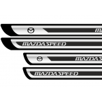 Set protectii praguri CROM - Mazda (V2)