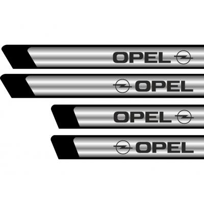 Set protectii praguri CROM - Opel