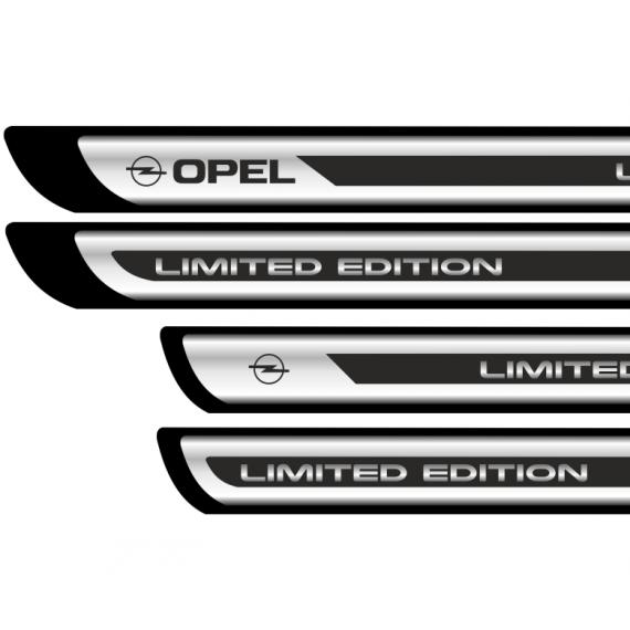 Set protectii praguri CROM - Opel (V3)
