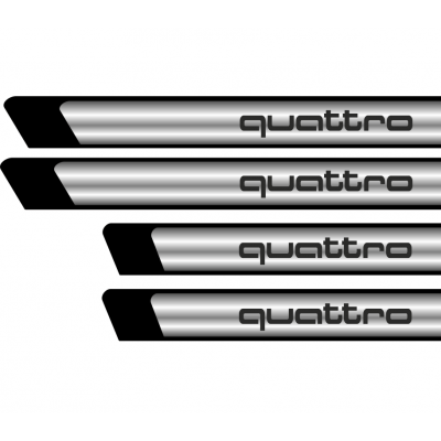 Set protectii praguri CROM - Quattro
