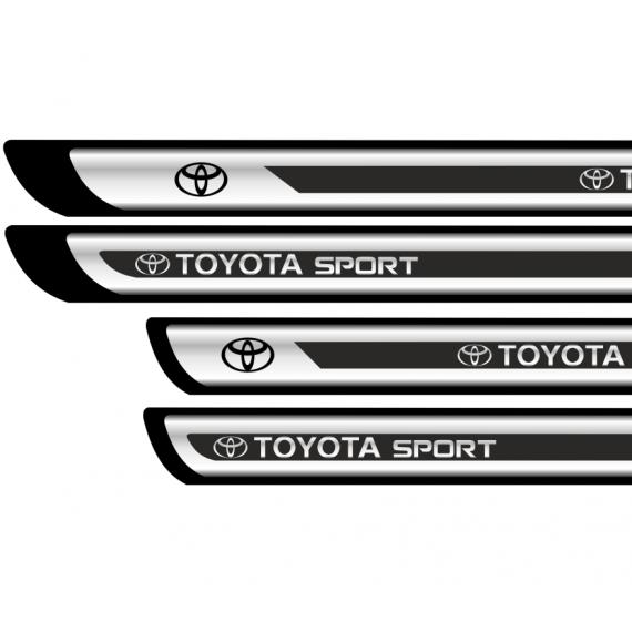 Set protectii praguri CROM - Toyota