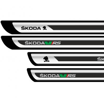 Set protectii praguri CROM - Skoda RS