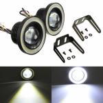 Proiectoare LED cu Angel Eyes 64mm