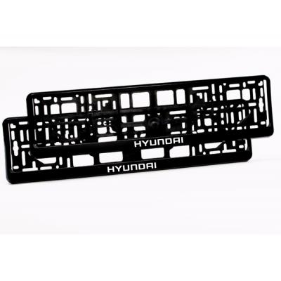Suporturi numar inmatriculare Hyundai