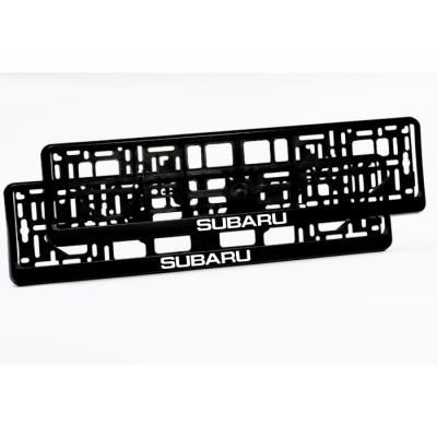 Suporturi numar inmatriculare Subaru