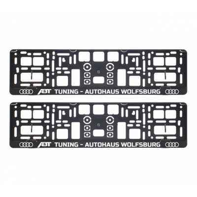 Suporturi numar inmatriculare ABT Audi