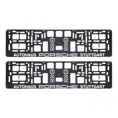 Suporturi numar inmatriculare Autohaus Porsche