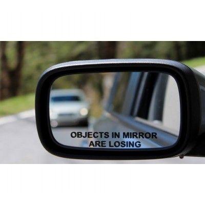 Sticker oglinda stanga