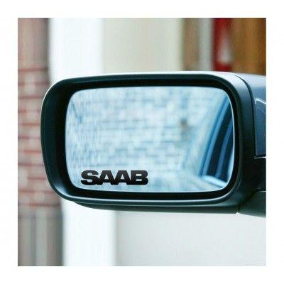 Sticker oglinda SAAB