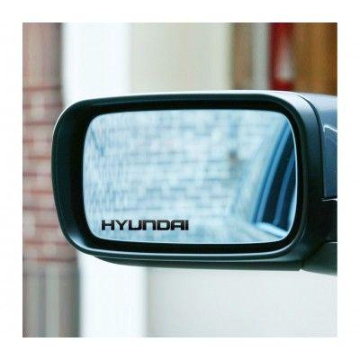 Sticker oglinda Hyundai