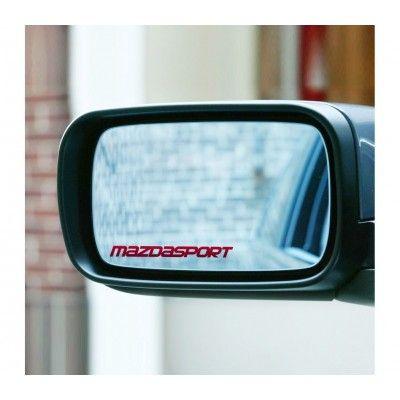 Sticker oglinda Mazda Sport