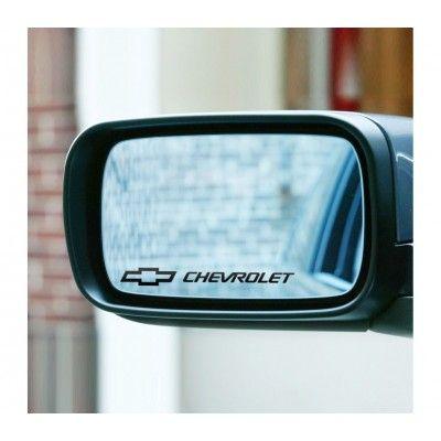 Sticker oglinda Chevrolet