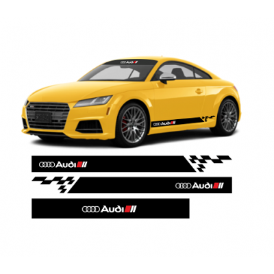 Set stickere Audi (v2)