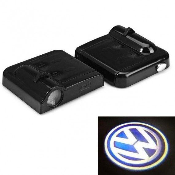 Set Proiectoare Led Logo Universale VW