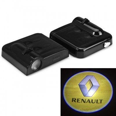 Set Proiectoare Led Logo Universale Renault