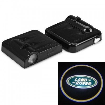 Set Proiectoare Led Logo Universale Land Rover