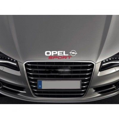 Sticker capota Opel Sport