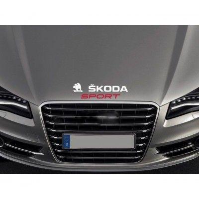 Sticker capota Skoda Sport