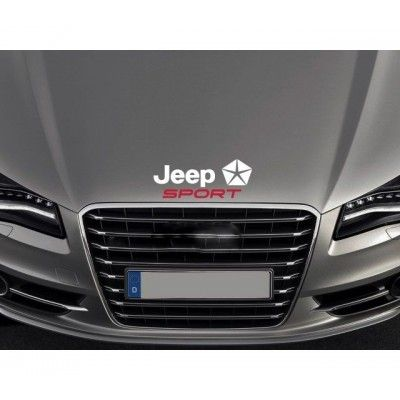 Sticker capota Jeep Sport