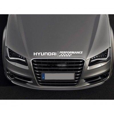 Sticker capota Hyundai