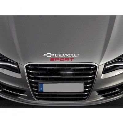 Sticker capota Chevrolet Sport