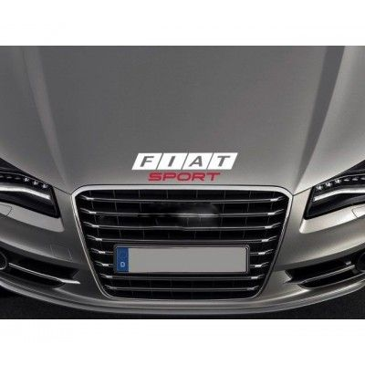 Sticker capota Fiat Sport