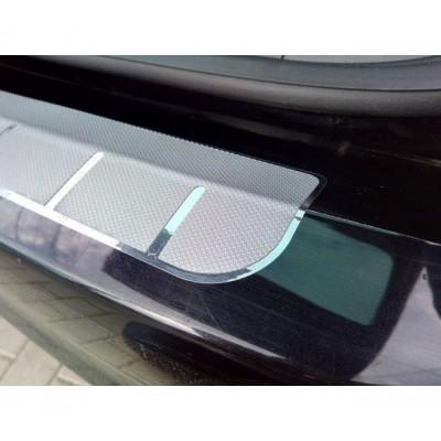 Protectie portbagaj - Crom si Aluminiu Texturat