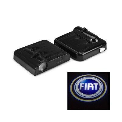 Set Proiectoare Led Logo Universale Fiat