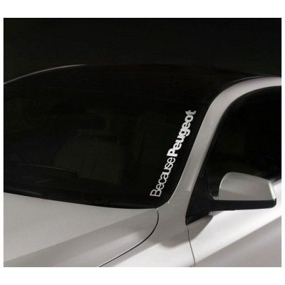 Sticker Parbriz Peugeot