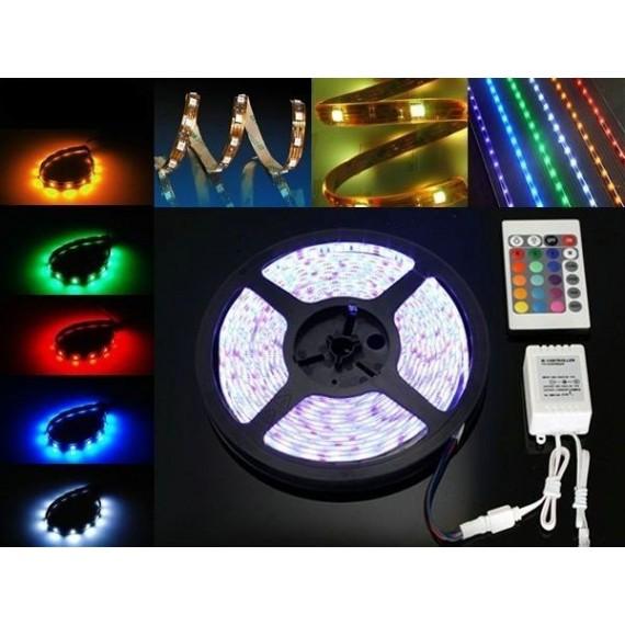 Banda LED RGB - 300 leduri / Rola