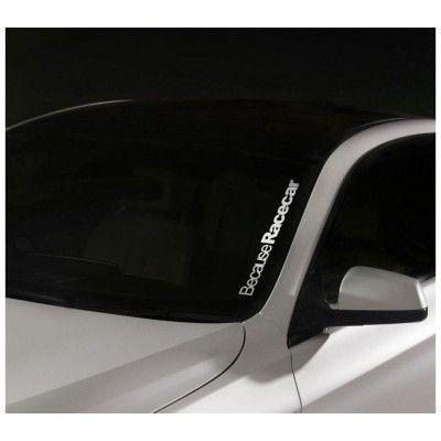 Sticker Parbriz Racecar